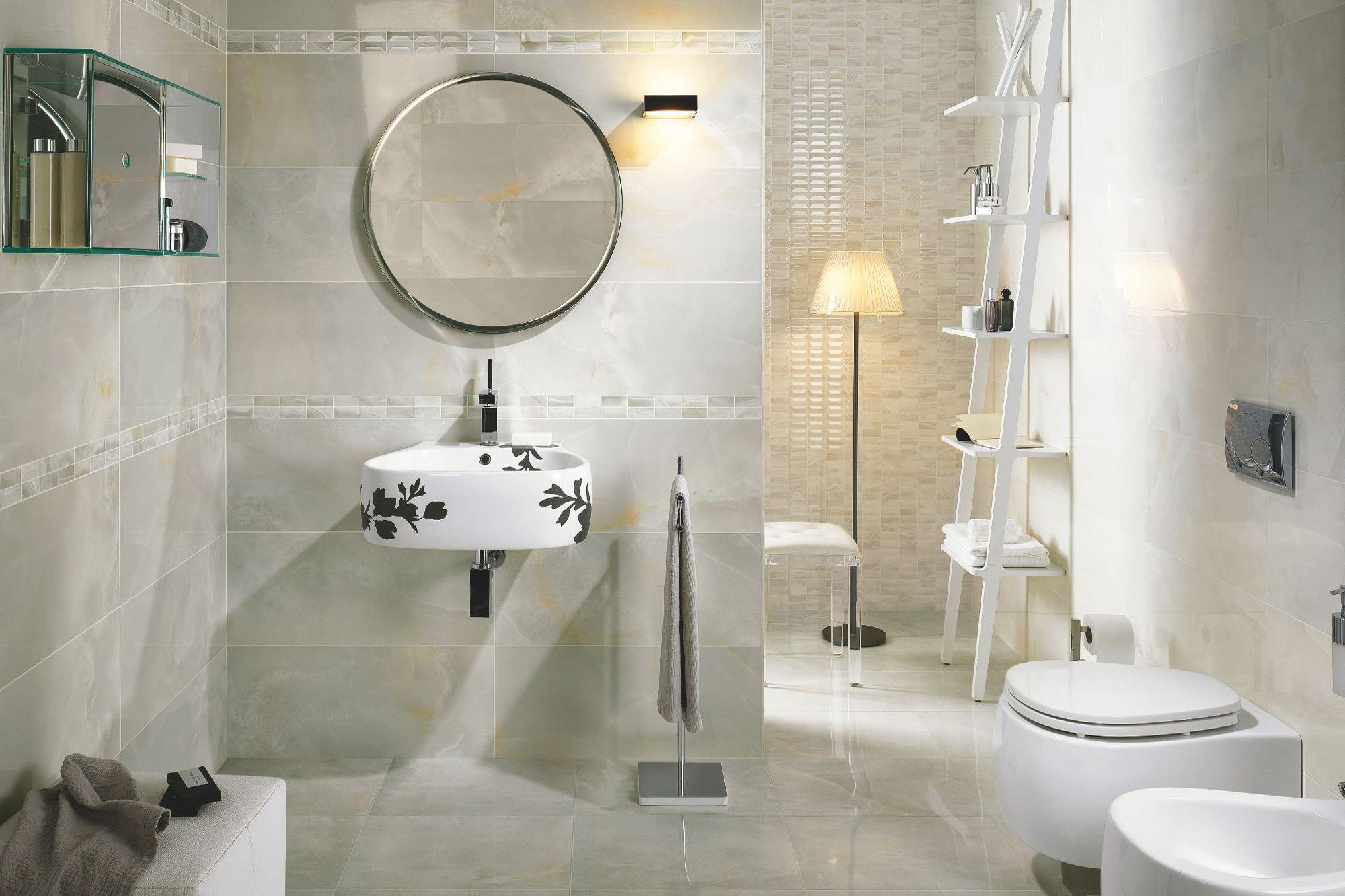Какой должна быть напольная плитка в ванной комнате?