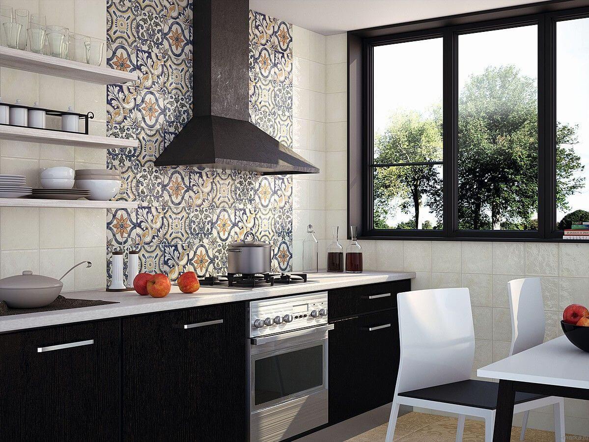 Кухонный фартук из керамической плитки - залог успеха!