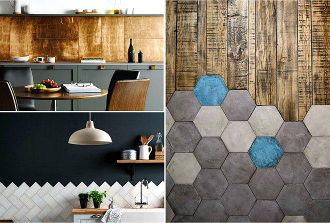 Необычные, интересные и яркие идеи с использованием плитки